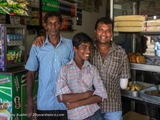 Locals, near Baticaloa, Sri Lanka