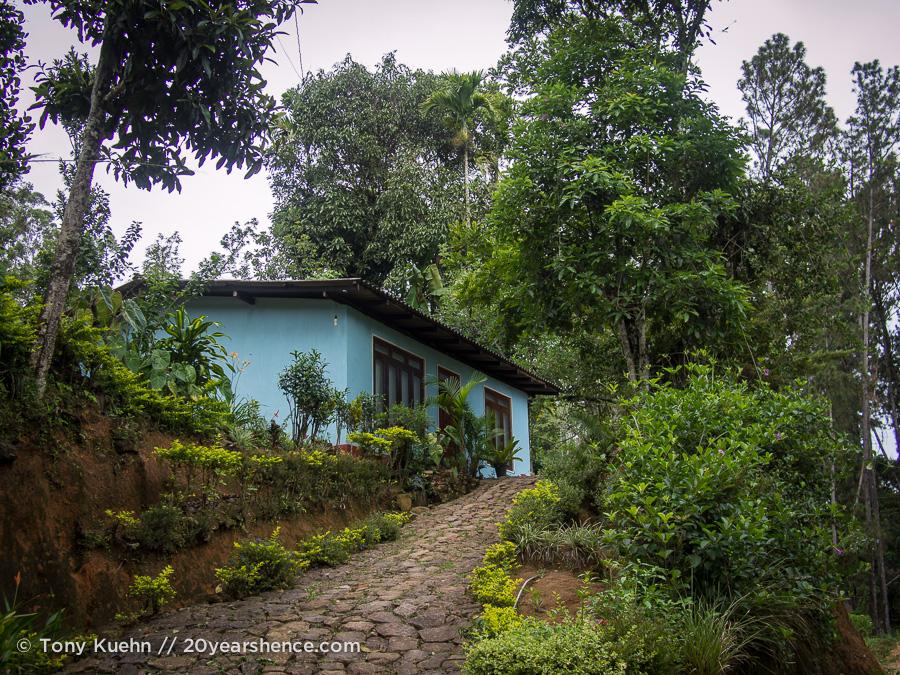 A cottage in Ella, Sri Lanka