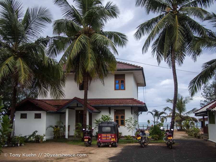 Our hotel in Arugam Bay