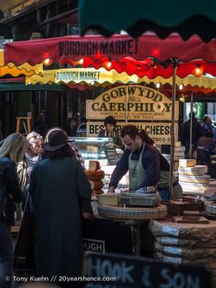 Vendor, Borough Market, London