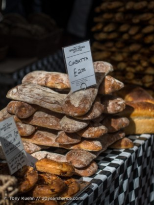 Ciabatta, Borough Market, London