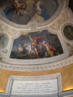 Louvre Ceiling painting