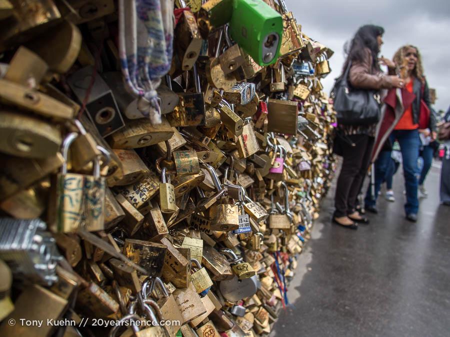 Love Locks, Paris, France