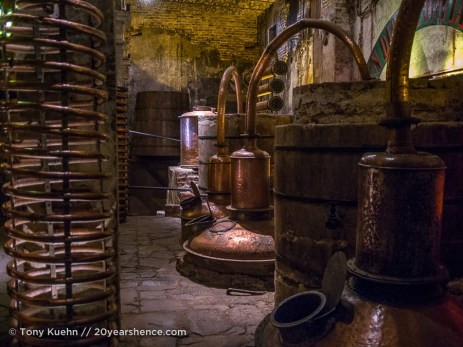 Casa Herradura's antique distillery