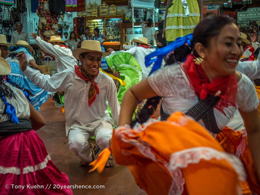 Traditional Dancing in Oaxaca