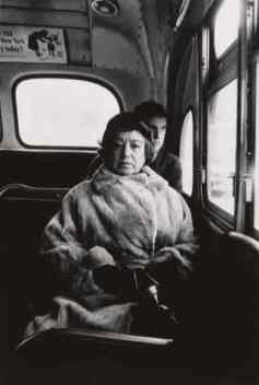 Lady on a Bus, NYC - Diane Arbus