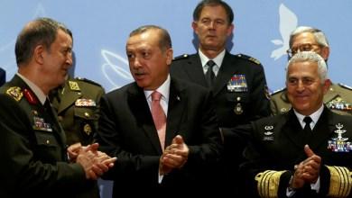أردوغان وقادة الجيش