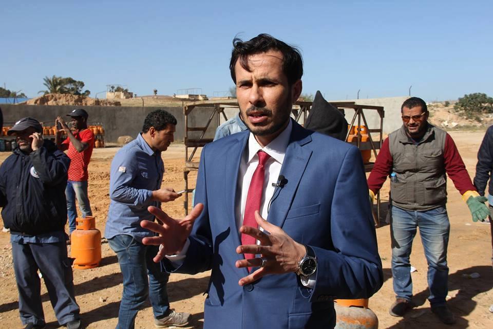 رئيس لجنة أزمة الوقود والغاز ميلاد الهجرسي