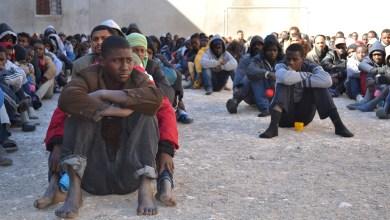 مهربو البشر عبر ليبيا