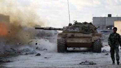 الجيش الوطني (تصوير - عبدالله دومة)