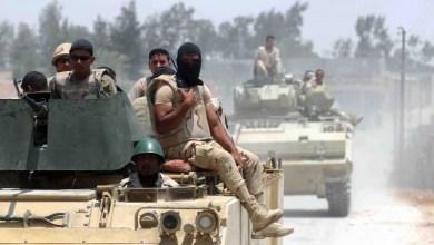 الشرطة المصرية بسيناء