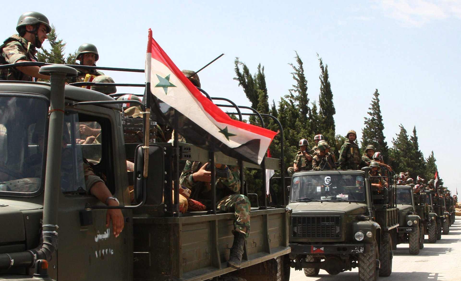 القوات النظامية السورية