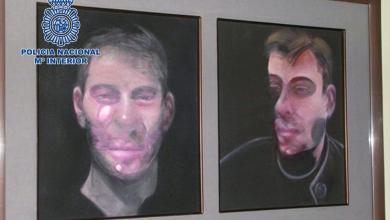 لوحات للفنان الايرلندي المولد فرانسيس