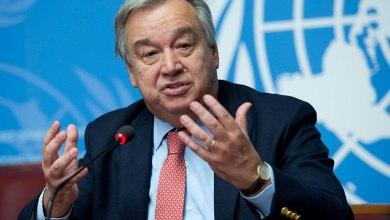 الأمين العام للأمم المتحدة، انطونيو غوتيريش