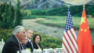 ريكس تيلرسون خلال زيارة للصين
