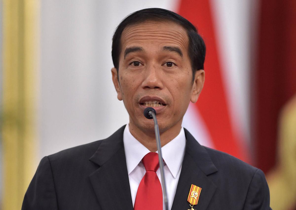 الرئيس الإندونيسي جوكو ويدودو