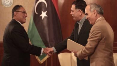 رئيس المجلس الرئاسي لحكومة الوفاق الوطني، فائز السراج