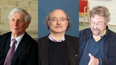 """الفئزين الثلاث بـجائزة """"نوبل"""" للفيزياء"""