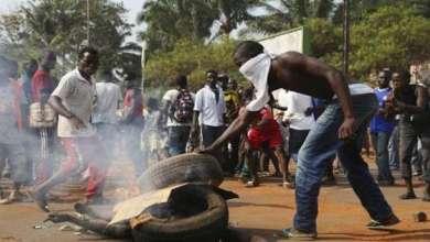 العنف في إفريقيا الوسطى