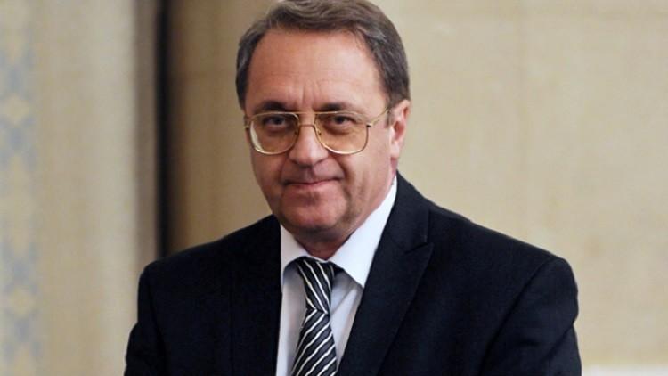 نائب وزير الخارجية المبعوث الخاص للرئيس الروسي ميخائيل بوغدانوف