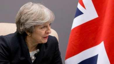 رئيسة الوزراء البريطانية تيريزا
