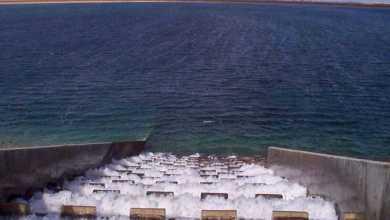 النهر الصناعي منظومةَ جبل الحساونة