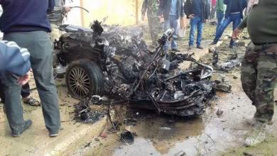 انفجار في سلوق أمام منزل الشيخ النمر
