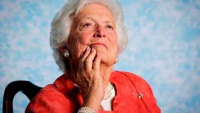 سيدة أميركا الأولى السابقة باربرا بوش