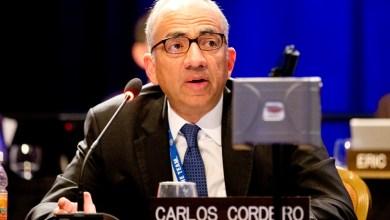كارلوس كورديرو رئيس اتحاد كرة القدم
