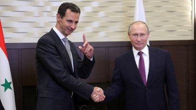 الرئيس الروسي فلاديمير بوتين والرئيس السوري بشار الأسد