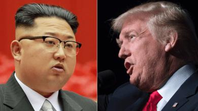 دونالد ترامب وكيم جونغ أون