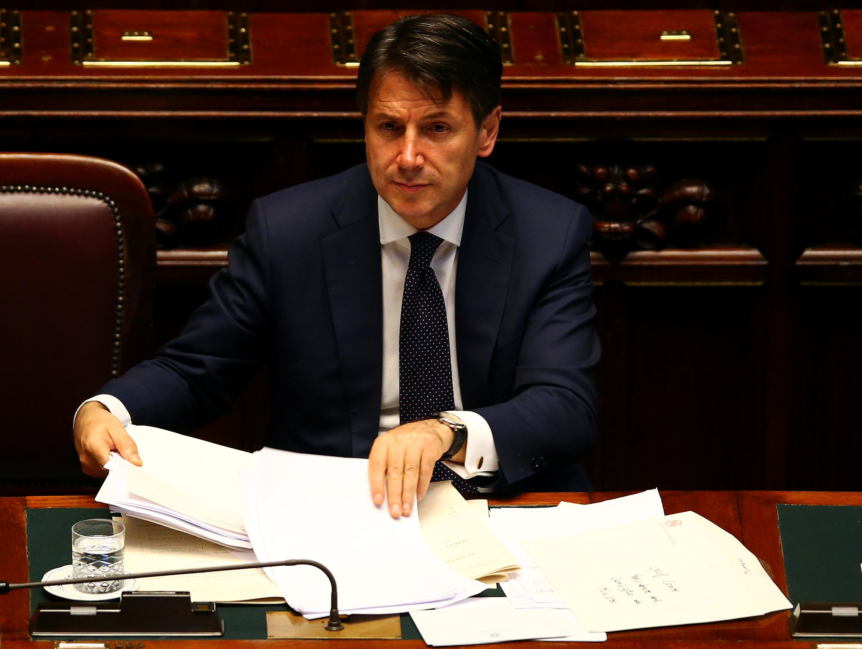 رئيس الوزراء الإيطالي الجديد جوزيبي كونتي