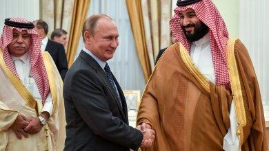 الأمير محمد بن سلمان والرئيس الروسي فلاديمير بوتين