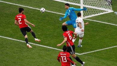 المنتخب المصري ومنتخب الأوروغواي