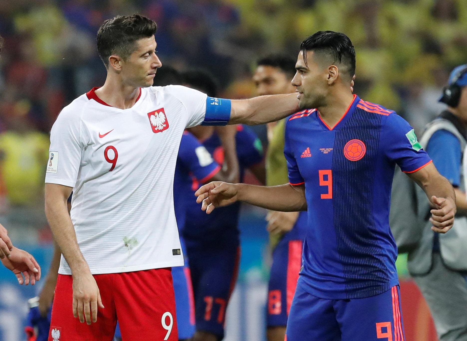 المنتخب الكولومبي ضد المنتخب البولندي بمونديال روسيا 2018