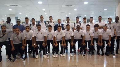 فريق الليبي المشارك في دورة ألعاب البحر الابيض المتوسط