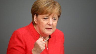 المستشارة الألمانية انجيلا ميركل