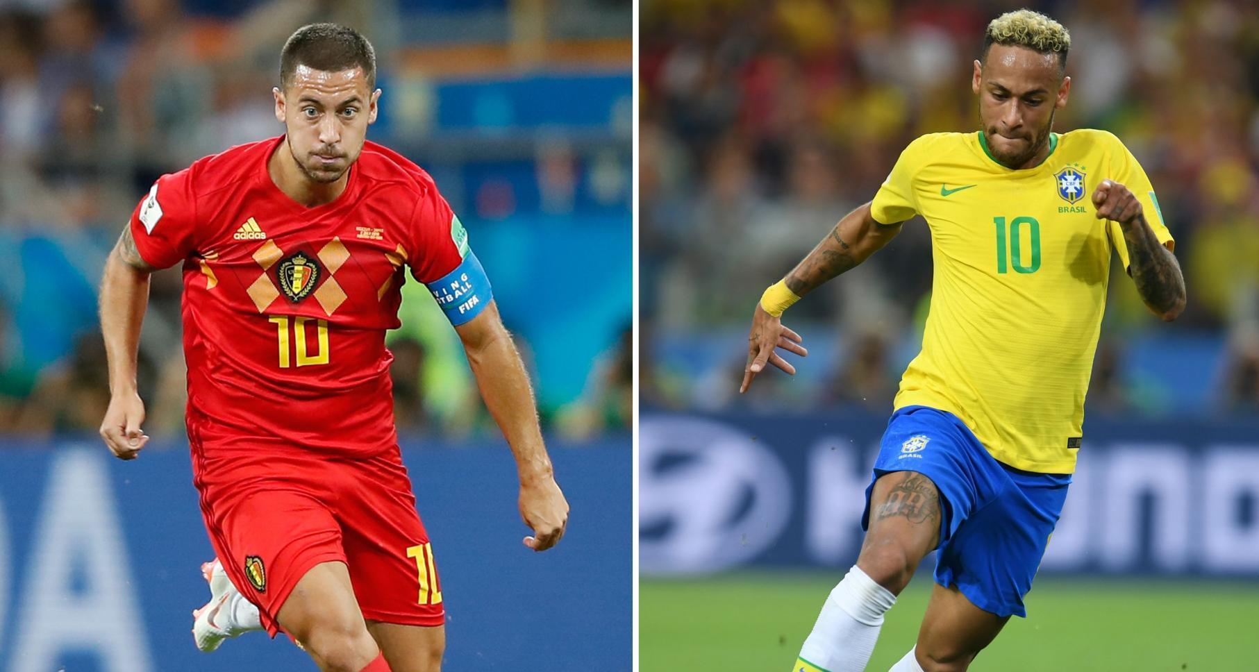 منتخب بلجيكا والبرازيل