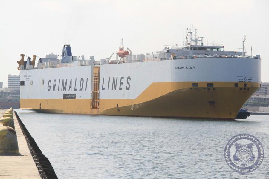 ميناء طرابلس يستقبل أول باخرة لشحن المركبات الآلية