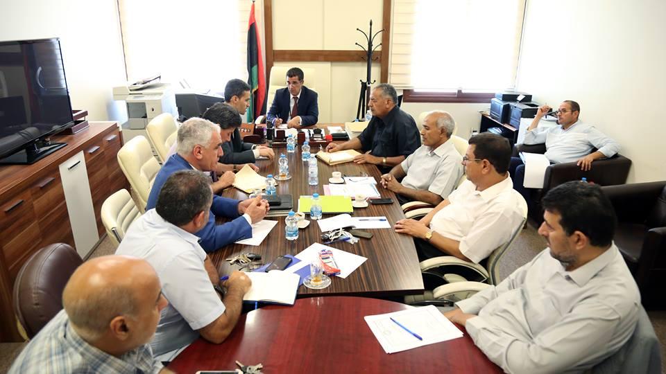 مكتب دعم القرار المكلف التابع لديوان حكومة الوفاق