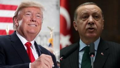 رجب طيب أردوغان و دونالد ترامب