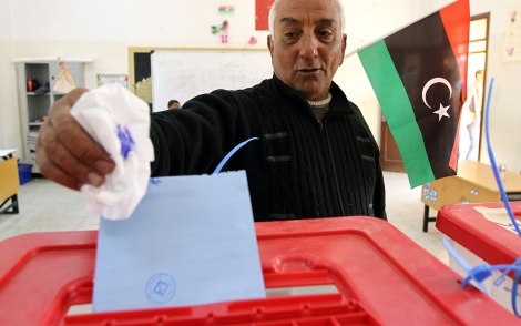 انتخابات ليبيا