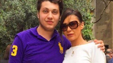 صور تجمع الفنانة اللبنانية نادين الراسي مع ابنها مارك حدشيتي