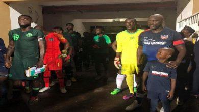 المنتخب النيجيري ونظيره الليبيري