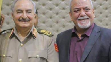 اللواء أحمد العريبي - المشير خليفة حفتر