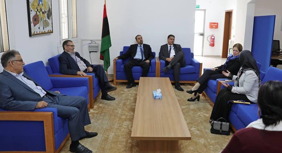 كتلة الوفاق بمجلس الدولة تلتقى ستيفانى وليامز