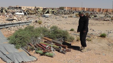 تفجير عشرات القذائف من مخلفات الحروب في تيجي