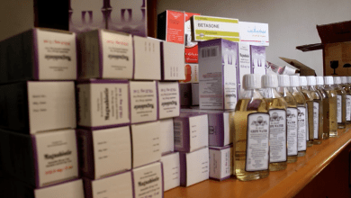 عناصر الحرس البلدي سرت يضبط كميات كبيرة من الأدوية والأغذية الفاسدة