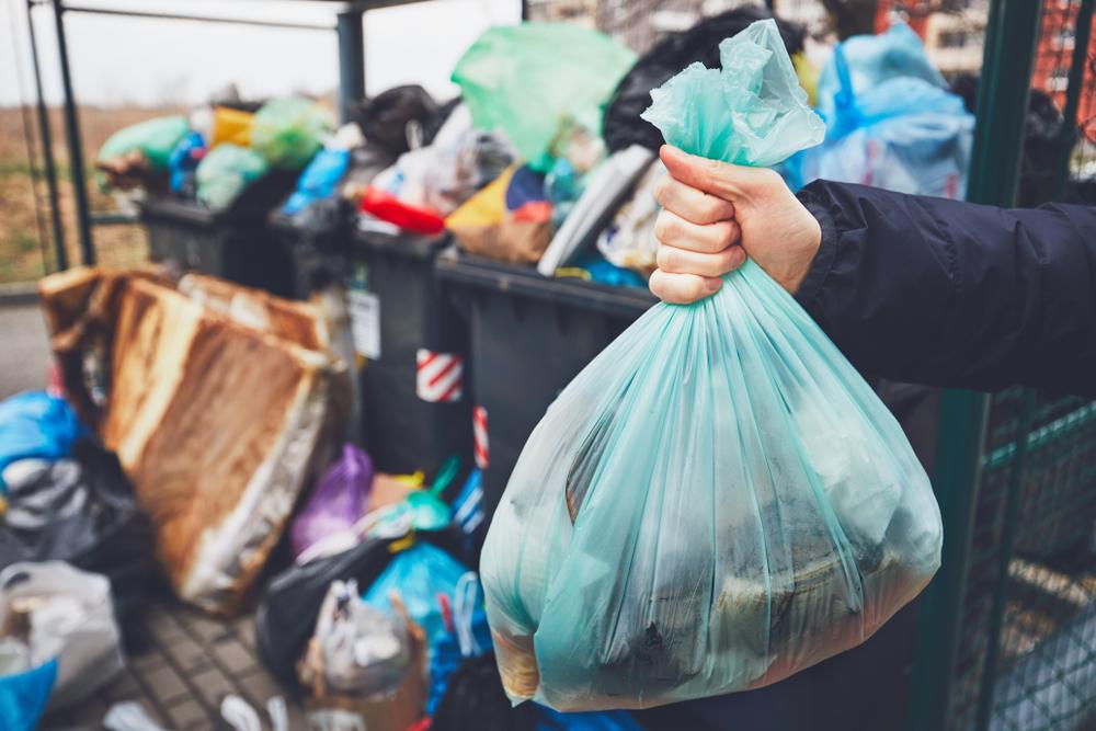 نفايات البلاستيكية