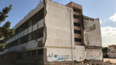 تهالك مدرسة الوحدة - طرابلس